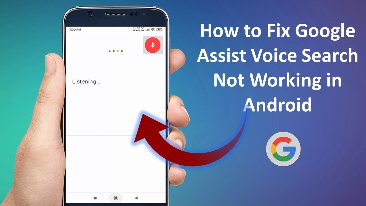 Google Voice Not working