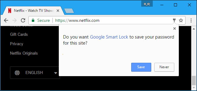 google chrome not asking to save password
