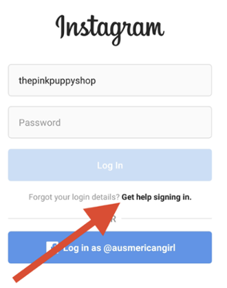 How to reset your instagram password without facebook?