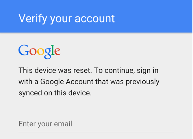 verify-google-account